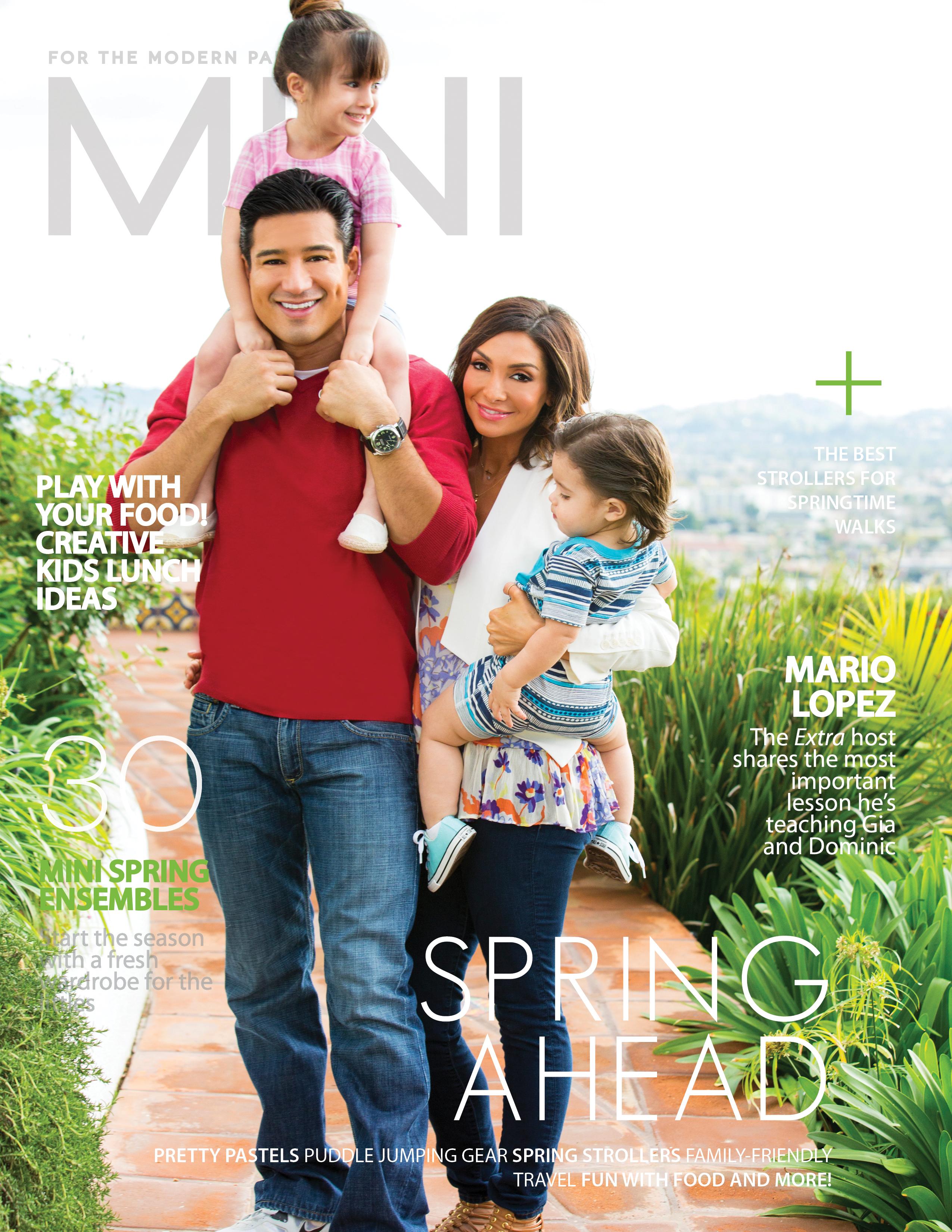 Spring 2015 Issue Mario Lopez Mini Magazine