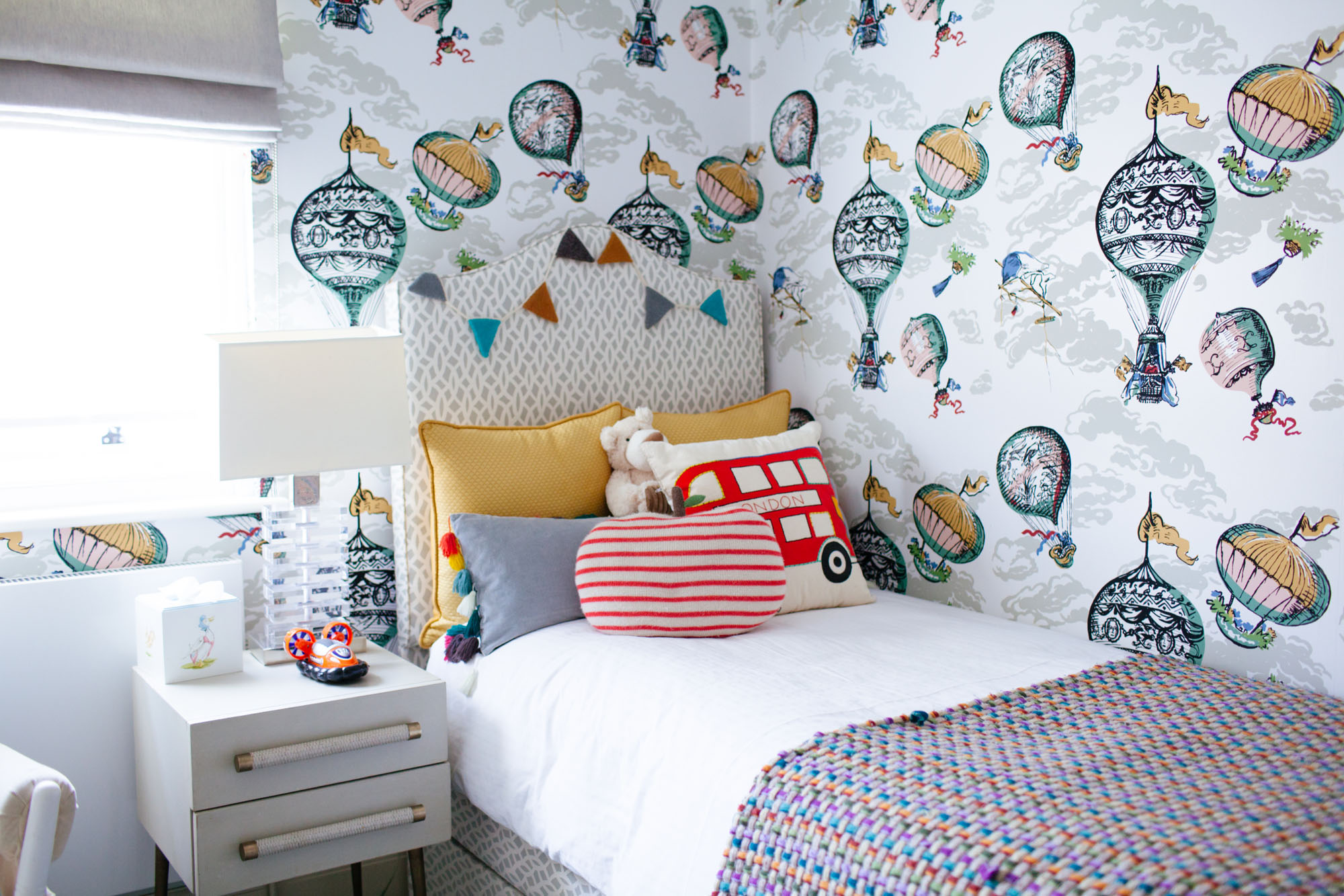 London Wallpaper For Bedrooms Tour Marissa Hermers Stunning London Home
