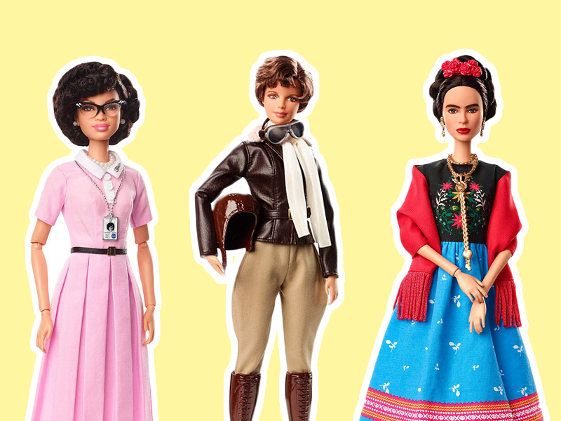 Move over Malibu Barbie. Thereu0027s a new doll in town and she comes bearing the likes of role models like Frida Kahlo Amelia Earhart and NASAu0027s Katherine ...  sc 1 st  Mini Magazine & Barbie Just Got a Whole New Look with Inspiring Women Series